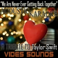 Vides Sounds | We Are Never Ever Getting Back Together (Acoustic Karaoke Version)