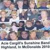 Acie Cargill and The Sunshine Band: Highland McDonalds 2010
