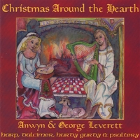 Anwyn & George Leverett | Christmas Around the Hearth