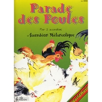 Accordeon Melancolique | Sheet Music Parade Des Poules
