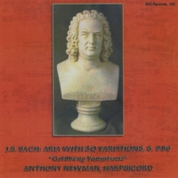Anthony Newman | J.S. Bach: The Goldberg Variations