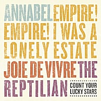 Various Artists | Annabel / Empire! Empire! (I Was a Lonely Estate)/ Joie De Vivre / The Reptilian (4-Way Split)