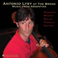 Antonio Lysy | Antonio Lysy at The Broad: Music from Argentina. Yarlung Records German Audiophile Pressing