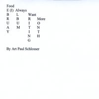 Art Paul Schlosser | February Album Writing Month