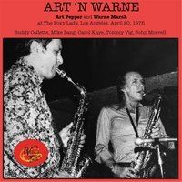 Art Pepper & Warne Marsh | Art 'n Warne