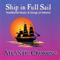 Atlantic Crossing | Ship in Full Sail