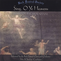 Bach Festival Society Of Winter Park | Sing O Ye Heavens