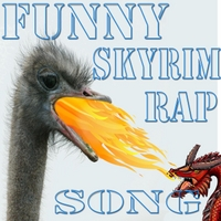 Badnews | Skyrim: Launching Dragons (Funny Rap Song)