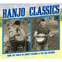Various Artists | Banjo Classics from the Vaults of County Records & Old Blue Records