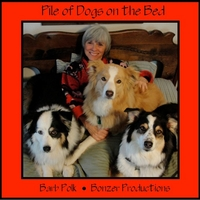 Barb Polk | Pile of Dogs On the Bed