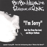 "Big Ben Hillman the Professor of FUNK | ""I'm Sorry"" EP"