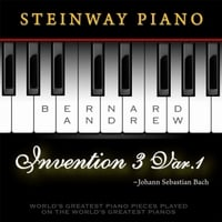 Bernard Andrew | J. S. Bach: Invention No. 3 in D Major, BWV 774: Variation No. 1 (Steinway Piano Version)