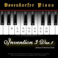 Bernard Andrew | J. S. Bach: Invention No. 3 in D Major, BWV 774: Variation No. 1 (Bosendorfer Piano Version)