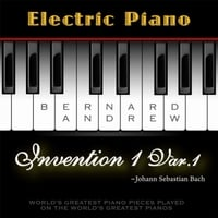 Bernard Andrew | J. S. Bach: Invention No. 1 in C Major, BWV 772: Variation No. 1 (Electric Piano Version)