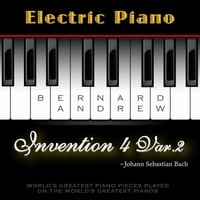 Bernard Andrew | J. S. Bach: Invention No. 4 in D Minor, BWV 775: Variation No. 2 (Electric Piano Version)