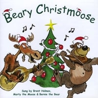 Brent Holmes, Marty The Moose & Bernie The Bear | Beary Christmoose