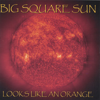 Big Square Sun | Looks like an orange