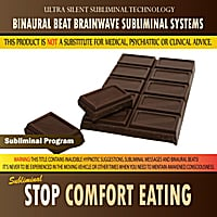 Binaural Beat Brainwave Subliminal Systems | Stop Comfort Eating