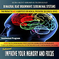 Binaural Beat Brainwave Subliminal Systems | Improve Your Memory and Focus