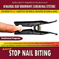 Binaural Beat Brainwave Subliminal Systems | Stop Nail Biting