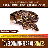Binaural Beat Brainwave Subliminal Systems | Overcoming Fear of Snakes
