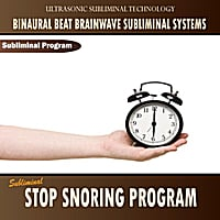 Binaural Beat Brainwave Subliminal Systems | Subliminal Stop Snoring Program - Binaural Beat Brainwave Subliminal Systems
