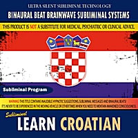 Binaural Beat Brainwave Subliminal Systems | Learn Croatian
