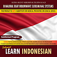Binaural Beat Brainwave Subliminal Systems | Learn Indonesian