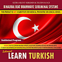 Binaural Beat Brainwave Subliminal Systems | Learn Turkish