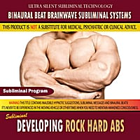 Binaural Beat Brainwave Subliminal Systems | Developing Rock Hard Abs