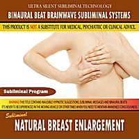 Binaural Beat Brainwave Subliminal Systems | Natural Breast Enlargement