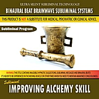 Binaural Beat Brainwave Subliminal Systems | Improving Alchemy Skill