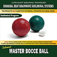 Binaural Beat Brainwave Subliminal Systems | Master Bocce Ball