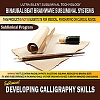 Binaural Beat Brainwave Subliminal Systems | Developing Calligraphy Skills