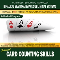 Binaural Beat Brainwave Subliminal Systems | Card Counting Skills