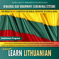 Binaural Beat Brainwave Subliminal Systems | Learn Lithuanian - Binaural Beat Brainwave Subliminal Systems