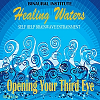 Binaural Institute | Opening Your Third Eye: Brainwave Entrainment (Healing Waters Embedded With 6.3hz Theta Isochronic Tones)