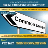 Binaural Beat Brainwave Subliminal Systems | Street Smarts - Common Sense Knowledge Wisdom