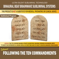 Binaural Beat Brainwave Subliminal Systems | Following the Ten Commandments