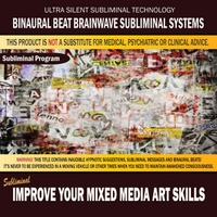 Binaural Beat Brainwave Subliminal Systems | Improve Your Mixed Media Art Skills