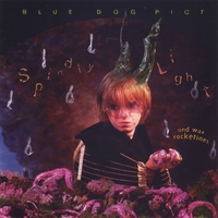 Blue Dog Pict | Spindly Light und Wax Rocketines