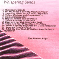 The Boston Boys | Whispering Sands