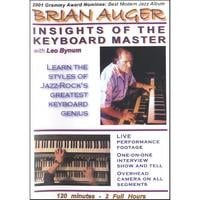 Brian Auger | DVD: Insights of the Keyboard Master