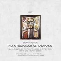 Brian Wilshere & London Piano & Percussion Quartet | Music for Percussion & Piano