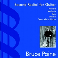Bruce Paine | Second Recital for Guitar