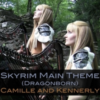 Camille and Kennerly | Skyrim Main Theme (Dragonborn)