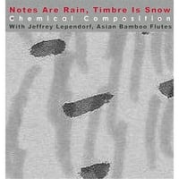 Chemical Composition & Jeffrey Lependorf | Notes Are Rain, Timbre Is Snow