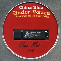 China Blue | Under Voices: Les Voix de la Tour Eiffel-Thumb Drive