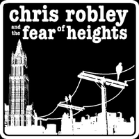 Chris Robley & the Fear of Heights | Small Black T-Shirt