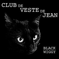 Club de Veste de Jean | Black Wiggy